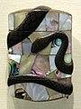 Giappone, inroo in lacca, periodo edo, 12 serpente.jpg