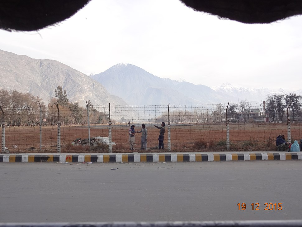 Gilgit Airport Winter Picture