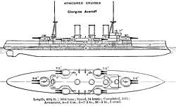 Γ.ΑΒΕΡΩΦ (ΠΛΟΙΟ) 250px-Giorgios_Averoff_cruiser_diagrams_Brasseys_1923