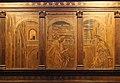 Giuliano da maiano, maso finiguerra, alesso baldovinetti e altri, tarsie della sagrestia delle messe, 1436-1468, 04 annunciazione tra amos e isaia 2.jpg
