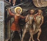 Giusto de' menabuoi, adamo ed eva, 1376-78, battistero di Padova
