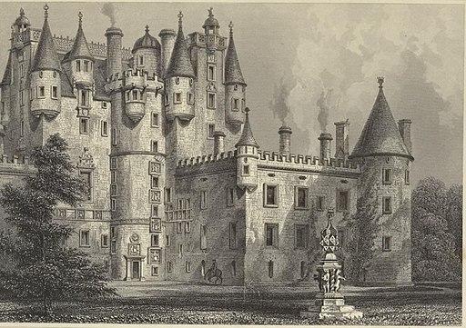 Glammis Castle 1852