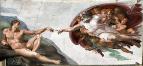 [VISITA VIRTUAL] La Capilla Sixtina 280px-God2-Sistine_Chapel