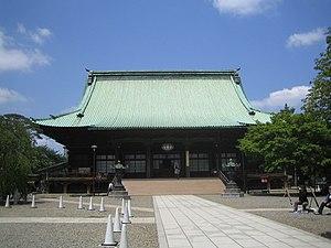 Gokoku-ji - Honden (main hall), an Important Cultural Property of Japan