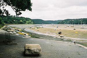 River Fowey - River Fowey at Golant