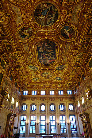 Augsburg Town Hall - The Goldener Saal