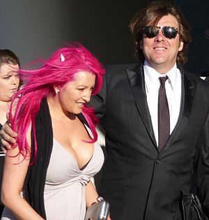 Jonathan Ross - Ross with his wife Jane Goldman at the British Academy Television Awards 2009