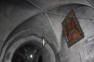 Golgotha vault, Holy Sepulchre 2010.jpg