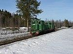 Gorokhovskoye peat railway TU4-818 and TU4-2961.jpg