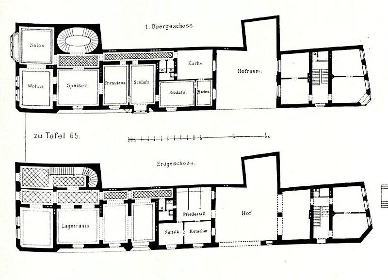 Datei gotisches wohnhaus am heumarkt in k ln architekt h for Grundriss wohnhaus