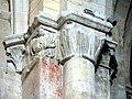 Gournay-en-Bray (76), collégiale St-Hildevert, doubleau entre croisée et nef, chapiteaux côté nord-ouest 1.jpg