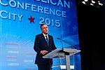 Governor of Florida Jeb Bush at Southern Republican Leadership Conference, Oklahoma City, OK May 2015 by Michael Vadon 126.jpg