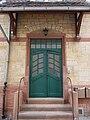 Grüne Eingangstür.JPG