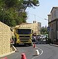 Grabels travaux rueChateau versCentre 09092009.JPG