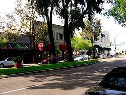 Downtown Escondido's Grand Avenue in May 2006.