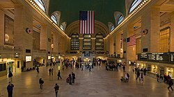Grand Central Station Main Concourse Jan 2006
