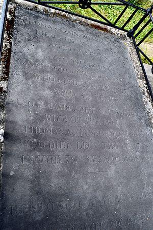 St Anne's Church, Kew - Tomb of Thomas Gainsborough