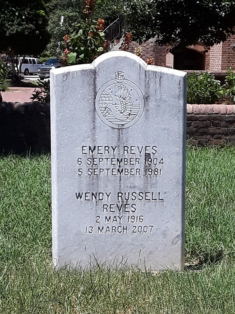 Graves of Emery and Wendy Reves (cropped)