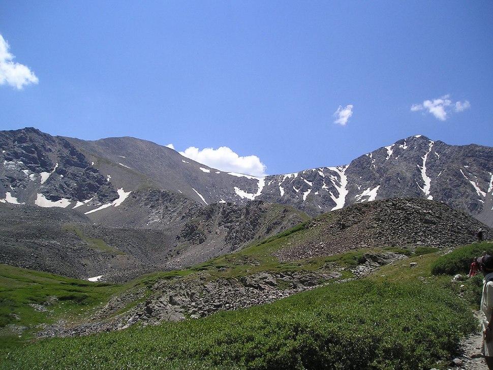 Grays and Torreys Peaks 2006-08-06