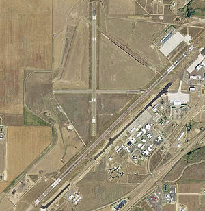 Great Falls International Airport - USGS 2006 orthophoto