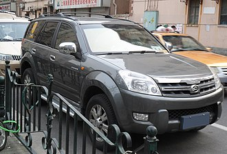Great Wall Haval H3 - Image: Great Wall Hover China 2012 04 04