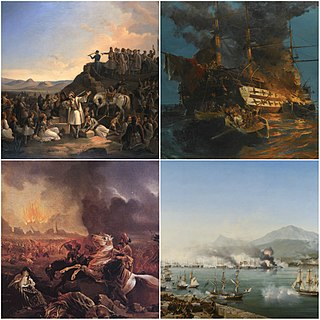 Greek War of Independence War of independence waged by Greek revolutionaries