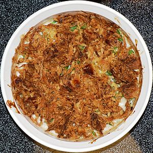 Green bean casserole - The dish from above