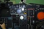 Grumman A-6A Intruder simulator instrument panel Pilot stuff left, Bombardier Navigator stuff right (6091776000).jpg