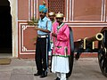 Guards at City Palace, Jaipur.jpg