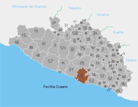 Regiones De Guerrero Wikipedia La Enciclopedia Libre