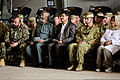 Guests, including Australian Army Maj. Gen. Michael Crane, front row, second from right, the commander of Joint Task Force 633, attend a transfer of authority ceremony for Combined Team Uruzgan Aug. 7, 2013 130807-O-MD709-064-AU.jpg
