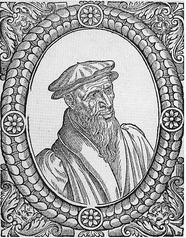 Гийом Фарель. Портрет Теодора Беза. 1580 год.