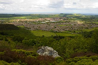 Guisborough - Guisborough from Highcliff Nab