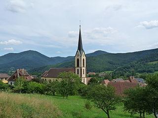Gunsbach Commune in Grand Est, France