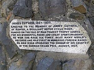 Guthrie's Memorial, Isle of Man - Image: Guthrie Memorial, Isle of Man