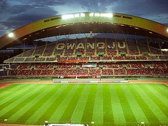 2015 K League Classic - Image: Gwangju World Cup Stadium