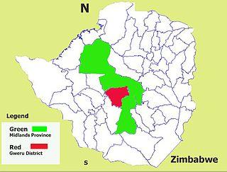 Gweru District District in Midlands, Zimbabwe