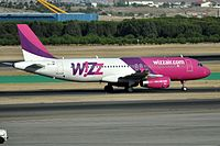 HA-LWF - A320 - Wizz Air