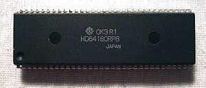Hitachi HD64180 - Hitachi HD64180 DIP64