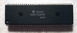 Hitachi HD64180 - Hitachi HD64180 DIP64