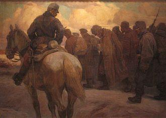 1917 in art - Image: HGM Höger Nach dem Vorstoß