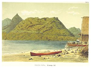 Kosrae - The harbour (1880)