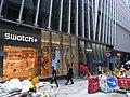 HK Central LHT Tower 1-7 Theatre Lane shop SWATCH+ Sept-2012.JPG