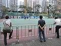 HK Mongkok 旺角 evening 麥花臣球場 Macpherson Playground visitors male May-2011.JPG