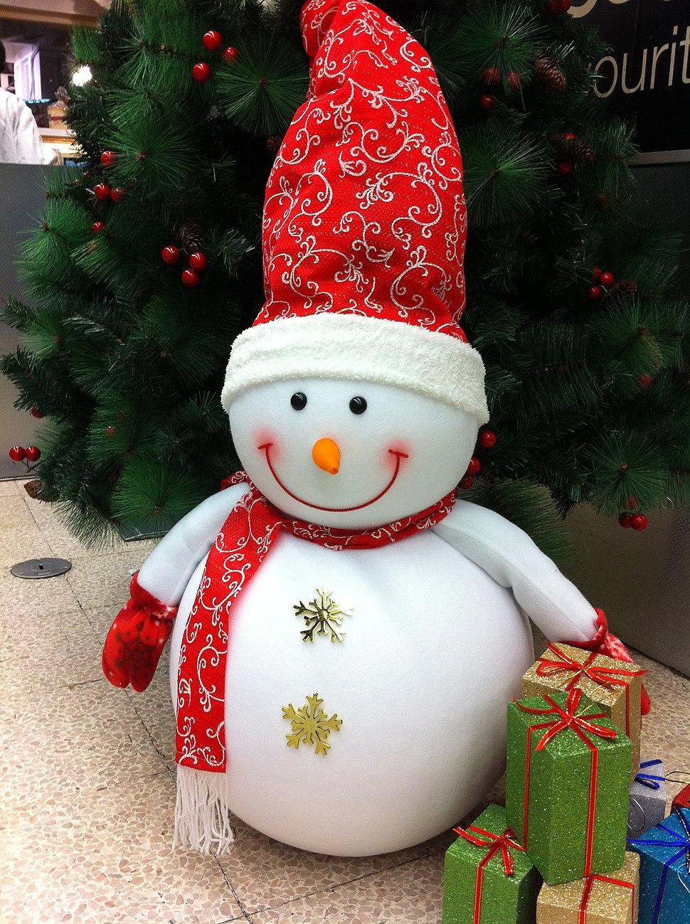 HK Sheung Wan Fook Sing Court Parkn Shop Christmas snow