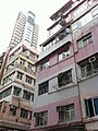 HK Sheung Wan Upper Station Street Hollywood Building facade View Villa Nov-2012.JPG