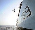 HMS Cornwall Hands To Bathe MOD 45150753.jpg
