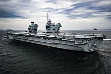 HMS Prince of Wales (R09) depart Forth for initial sea trials - 19.jpg