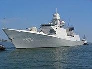 HNLMS De Ruyter (F804) NATO Gdynia 25 05 07 200