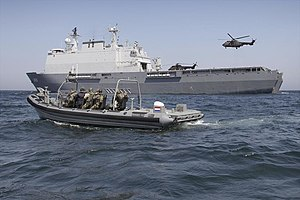 Netherlands Marine Corps - FRISC vessel of the Royal Dutch Marines in support of Amphibious Operations